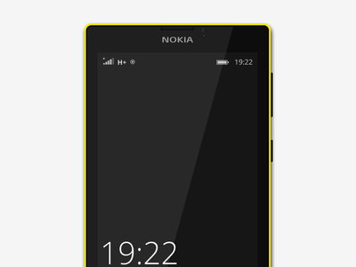 Limia 520 (illustration experiment) windows phone yellow black ui lumia experiment vectors illustration gravit beta gravit design gravitapp gravit