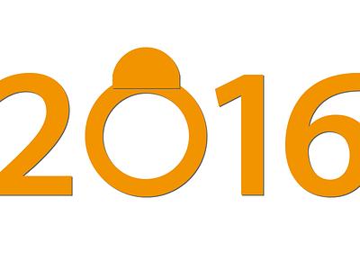 Happy 2016!... bb8 2016 flat illustration star wars vectors gravitapp gravit designer gravit