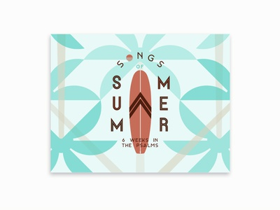 Song of Summer Postcard