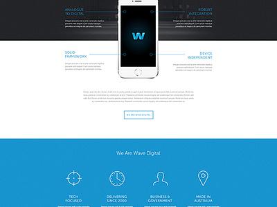 Agency Website Concept website ui web design