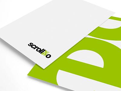 Scrolleo Branding design logo design branding