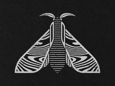 MOTH 3 geometric art graphic design illustration design art