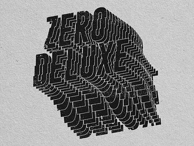 ZD Type typography branding logo geometric art graphic design illustration design art