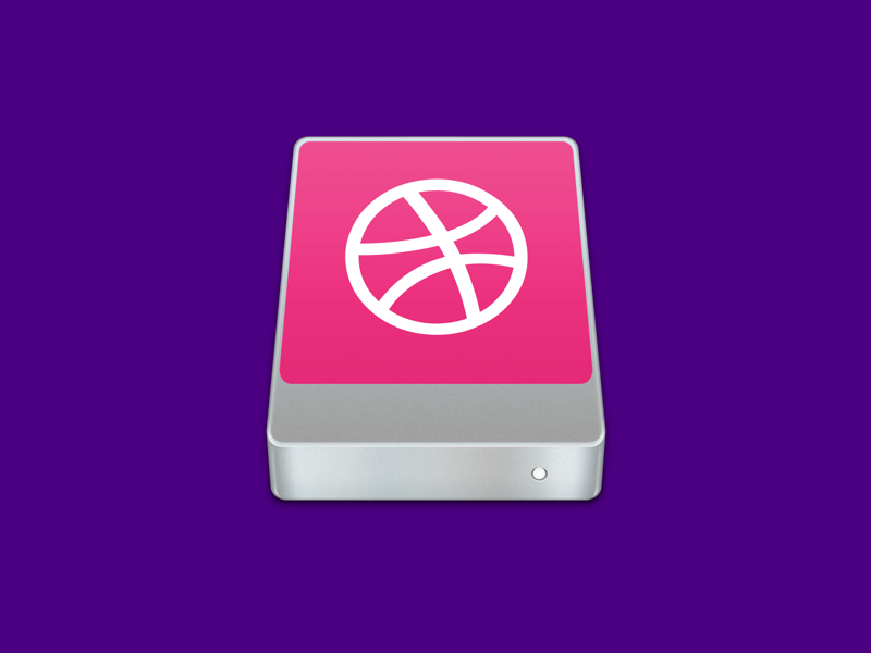 Dribbble SSD ssd dribbble mac os x icon debut