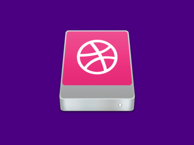 Dribbble SSD ssd dribbble mac os x icon debut