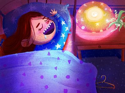 Drooling 🤤 character development kidlit art drool kid girl illustration digital art childrens illustration childrens book characterdesign character illustration