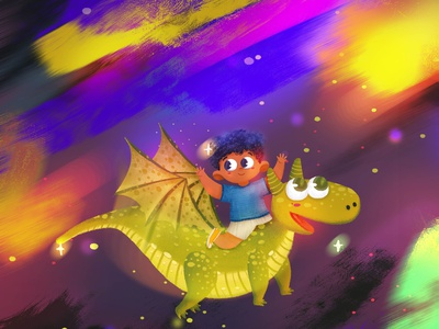 Dragon and his Bestfriend kidlit art character illustration childrens book illustration kidlitart illustration dragon visual development digital art childrens illustration characterdesign