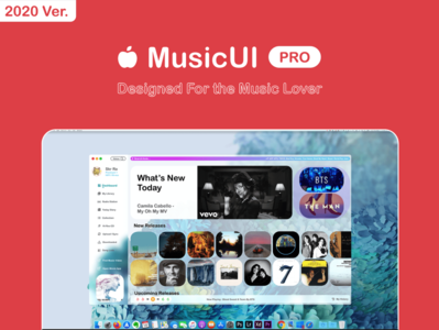 MusicUI Pro - Designed for the music lover