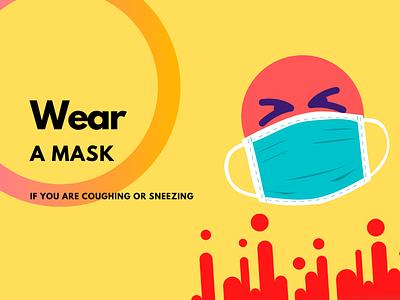 Wear a Mask shot design dribbble coronavirus 2020 covid19