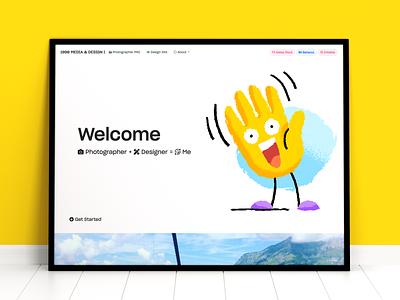 My Website Design 2020 Summer-Autumn branding hello ui shot invite dribbble design autumn summer 2020 website design website