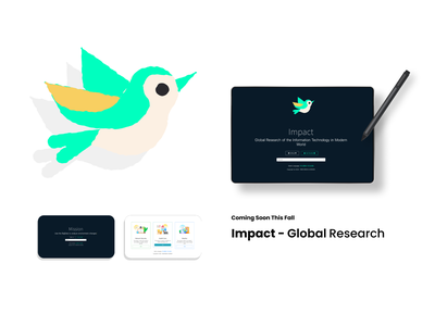 Impact - A Global Research Project around IT, Health, Weather vector javascript research ui website shot dribbble invite nuxtjs vuejs 2020 design weather health global
