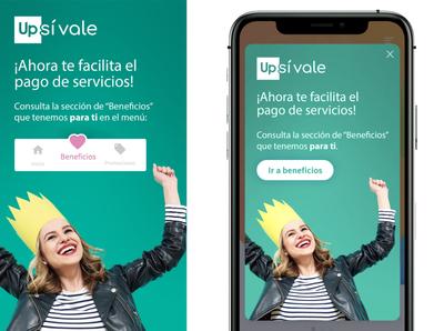 Pop up design ui benefits payment devide mobile app design pop-up