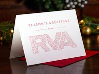 Letterpress RVA Holiday Card