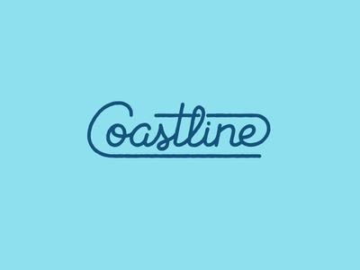 Coastline Lettering