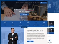 Law Firm website deisgn responsive flat design lettering lawyers attorney  law law