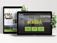 Construction Website Redesign.