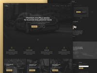 Chauffeur Service Website Design.