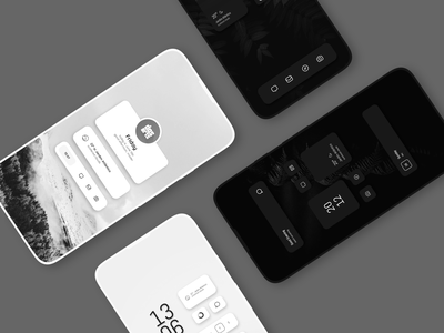 Mono for KLWP customize wallpapers widgets andorid