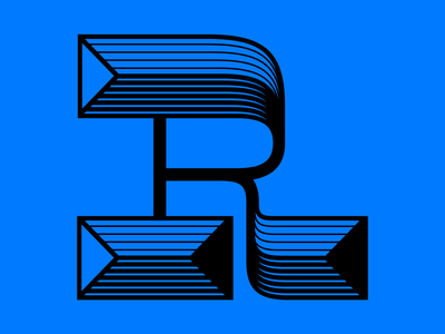 Letter R for 36days of type challenge 36daysoftype font letters custom lettering custom letters letter type design typedesign