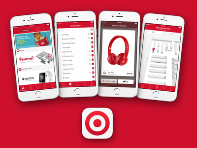 Target Flagship iOS App indoor location ibeacons apple pay mobile app ios target