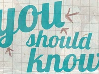 """""""Someone You Should Know"""" masthead redesign"""