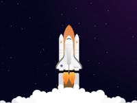 NASA Discovery Rocket Launch