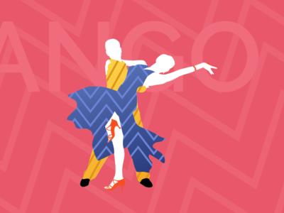 Tango Dance Silhouette