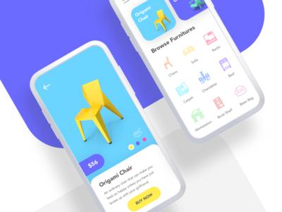Furniture App Concept