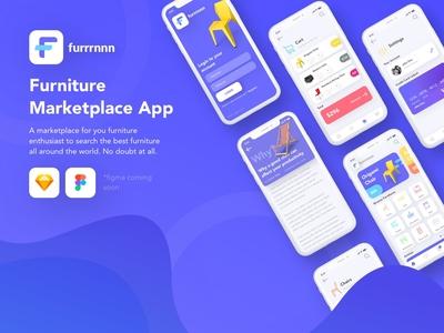 Furniture Marketplace Mobile App Design