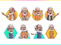 Narendra Modi - PM of India | Vector Illustration