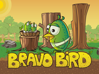Bravo Bird - Game UI/UX Design