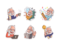 Narendra Modi Stickers