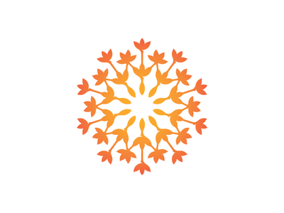 Sustainability global warming eco-friendly sustainability network green logo radiant flowers plants nature