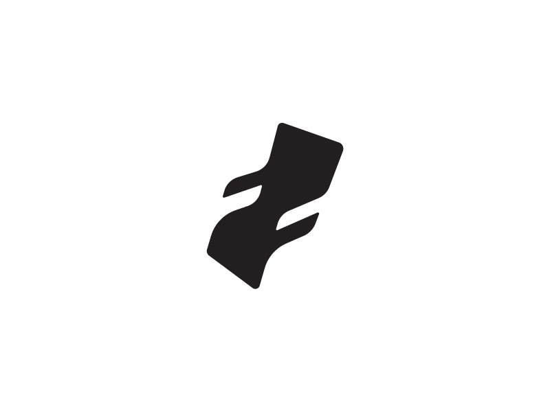 Reclining Chair + F (WIP) minimal simple symbol logo negative space f reclining chair chair