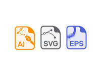 Vector File Formats eps svg ai ux vector file ui icons
