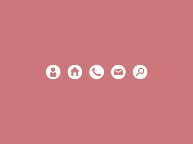 Business Card Icons 2 By Jeriah Lau Dribbble Dribbble
