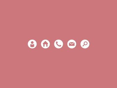 Business card icons 2 by jeriah lau dribbble business card icons 2 reheart Gallery