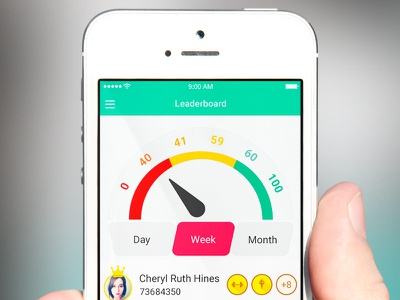 Leaderboard mobile ui mobile game percentage range user interface game ui leaderboard