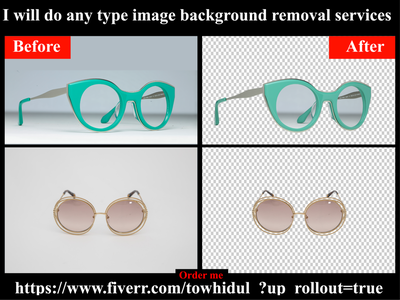 I will do background removal and photoshop editing services color change e-comerce changing retouching shadow masking transpernt photoediting clipping path service background remove