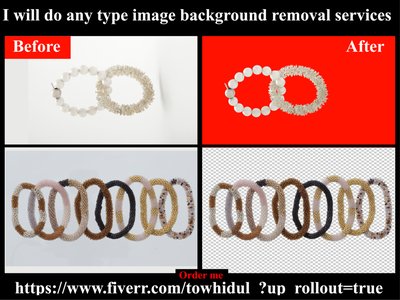 I will do background removal and photoshop editing services others e-comerce background removal retouching shadow masking transpernt photoediting clipping path service background remove