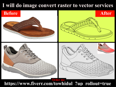 I will do image convert raster to vector services low cost design logo transpernt image convert illustrator vector tracing convert raster to vector