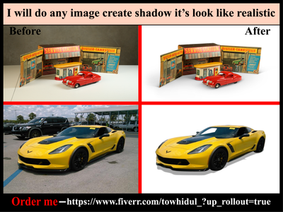 I will do shadow effect creation services quickly & low cost others masking background removal retouching e-comerce photoediting clipping path service transpernt shadow