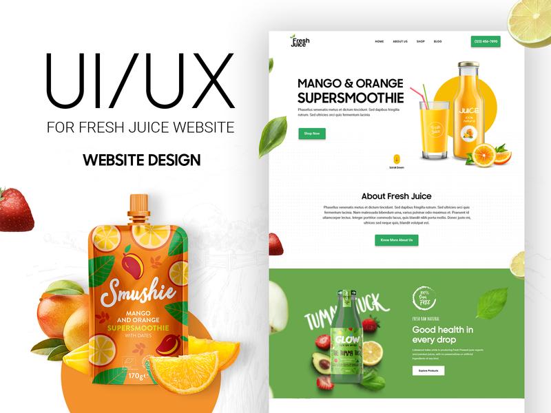Website Design mockup download website design immunity diet healthy landingpage dribbble wireframe uiux ui typography