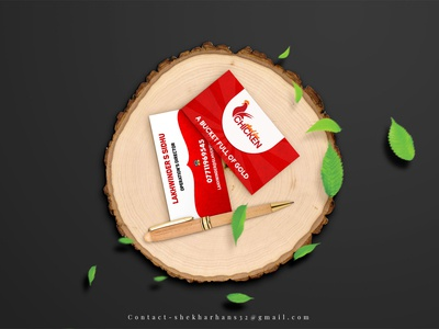 Business Mockup For Mad For Chicken
