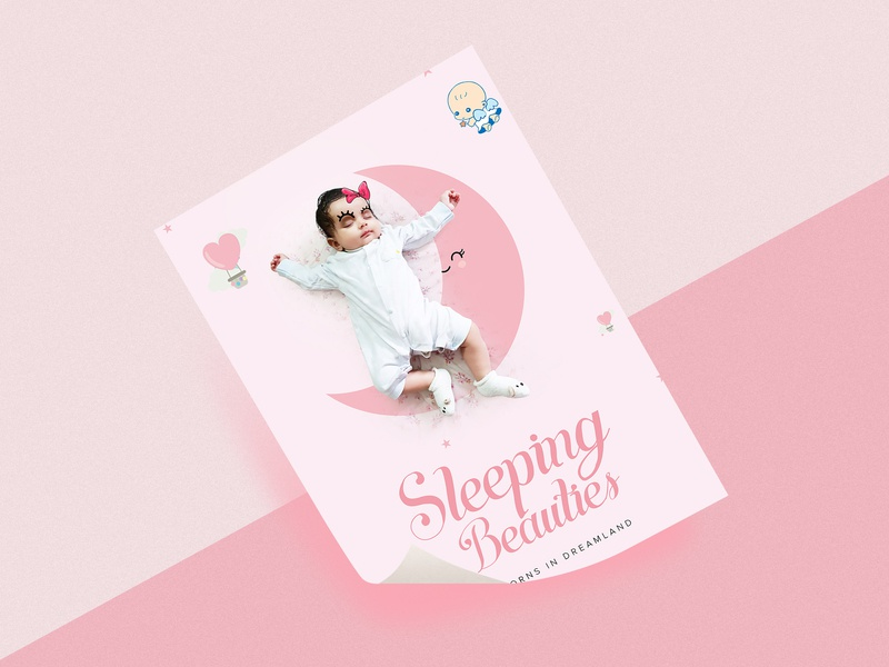 Ashana S Poster inspriation dribbble best shot typography art typogaphy poster design nature beautiful girl lovely cutiness overloaded hearts moon baby girl sleeping beauty dribbble posterdesign graphic a4poster ashana new born baby