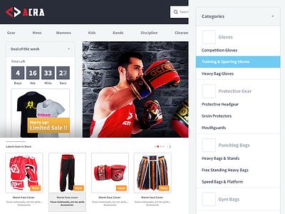 eCommerce shop ecommerce ui design shop team-interloop store categories product