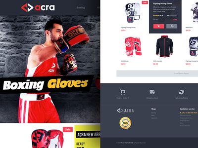 Boxing and MMA Online shopping cart boxing mma shopping cart online store ui eddy gloves pattern master