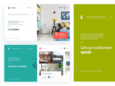 Grabhouse New Landing Page grabhouse home real-estate luxury ux ui website scroll clean minimal page landing
