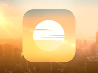 Sunrises iOS Icon