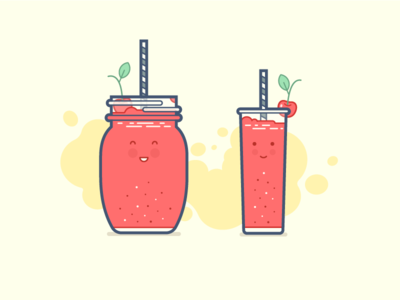 Drink Size cup saturday cocktail drink icon illstration vector
